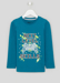 Picture of Boys Long Sleeve Next Level Slogan T-Shirt (4-13yrs)