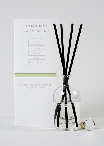 Picture of Lime Basil & Mandarin Luxury Reed Diffuser (150ml)