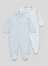 Picture of Boys 2 Pack Star Baby Grows (Newborn-23mths)