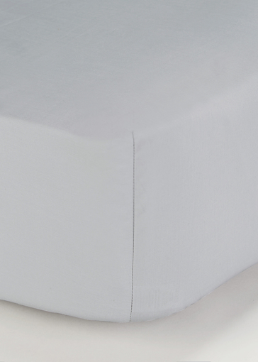 Picture of 100% Cotton Percale Deep Fitted Bed Sheet (200 Thread Count)