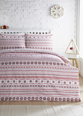 Picture of Christmas Fair Isle Flannel Bedding