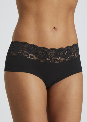 Picture of 5 Pack Lace Trim Short Knickers