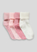 Picture of Girls 4 Pack Ribbed Socks (Newborn-12mths)