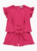 Picture of Girls Crinkle Top & Shorts Set (4-13yrs)