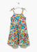 Picture of Girls Floral Crinkle Jersey Dress (4-13yrs)
